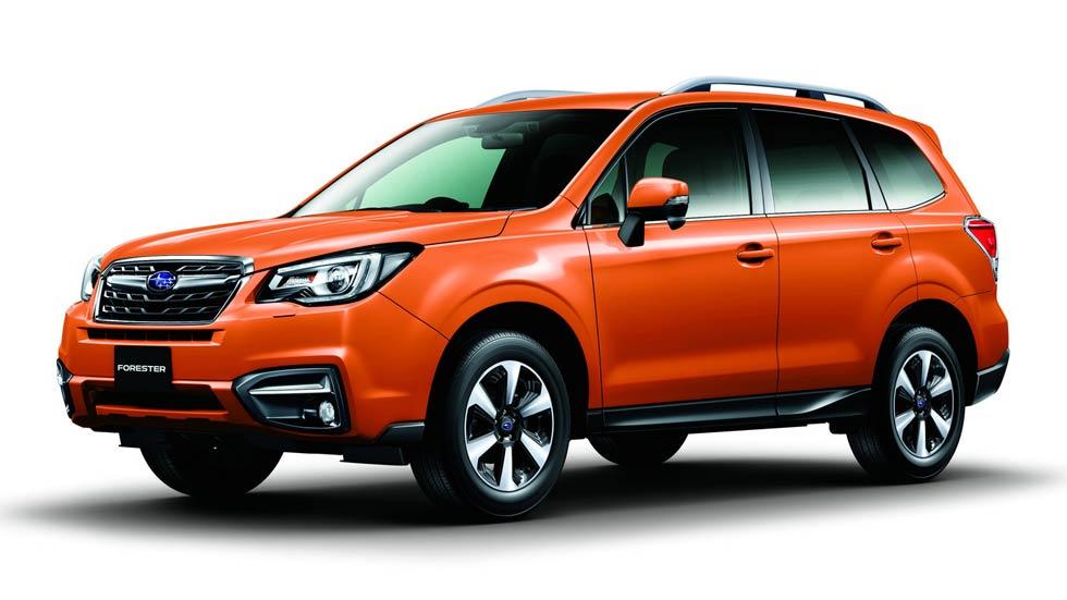 Subaru Forester 2016, renovación estética y de equipamiento