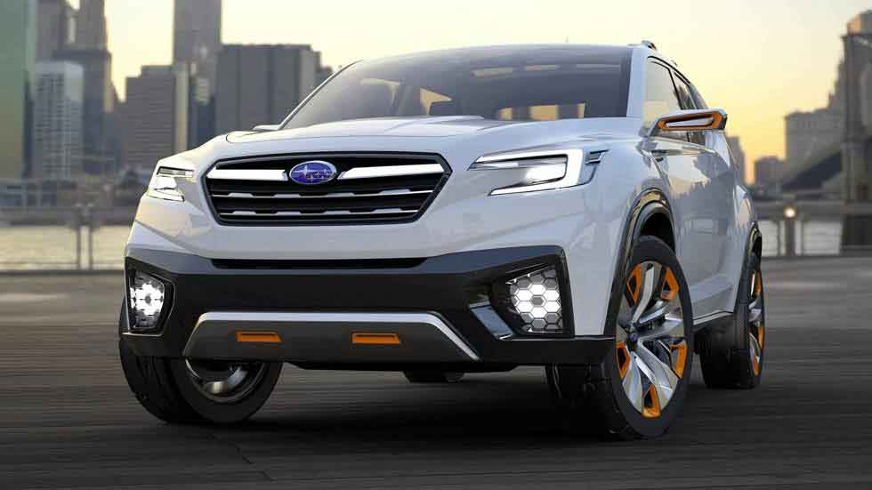 Subaru VIZIV Future Concept: SUV, híbrido y 'casi' autónomo