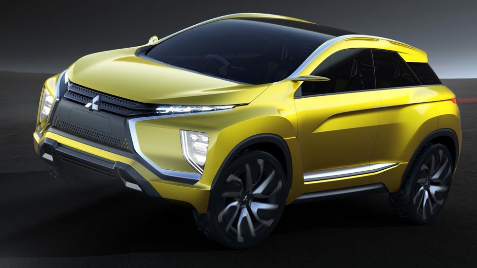 Mitsubishi ex concept el ctrico de tracci n total for A total concept salon