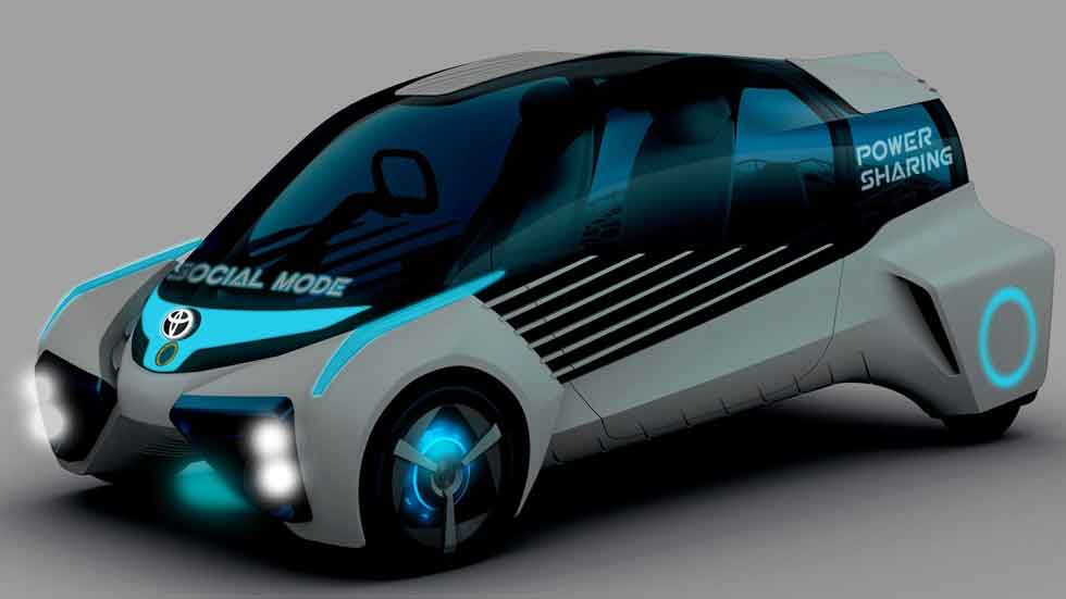 Toyota FCV Plus Concept: un coche urbano de hidrógeno