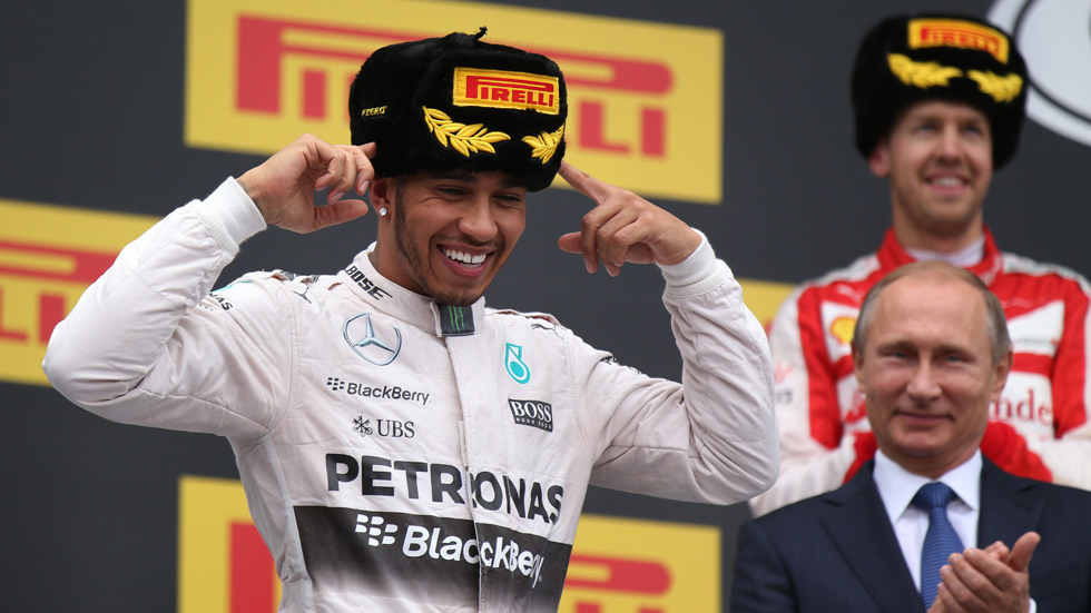 F1: las notas del GP de Rusia 2015