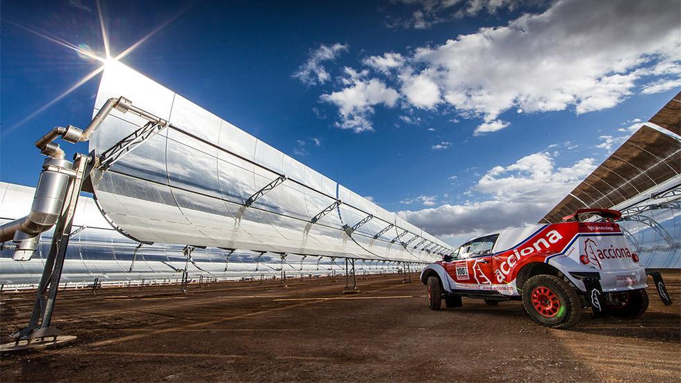 El buggy eléctrico de Acciona hace historia en Marruecos y volverá al Dakar