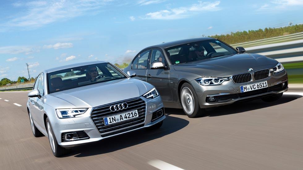 BMW Serie 3 contra Audi A4