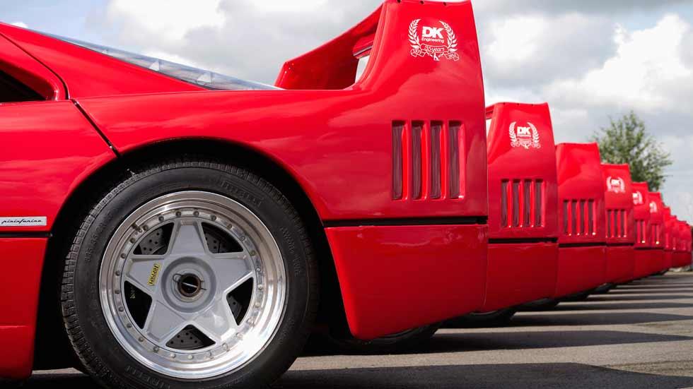 Los 10 mejores superdeportivos de los años 90: McLaren F1, Honda NSX, Ferrari F40…