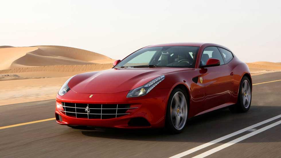 Los Ferrari FF del Rey salen a subasta pública