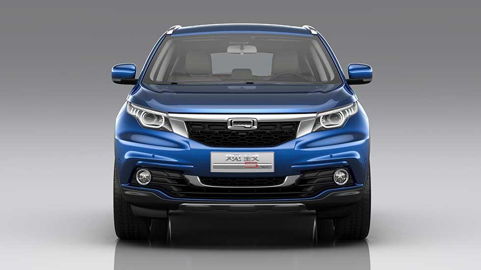 Qoros 5 SUV, un todocamino más grande para la marca china