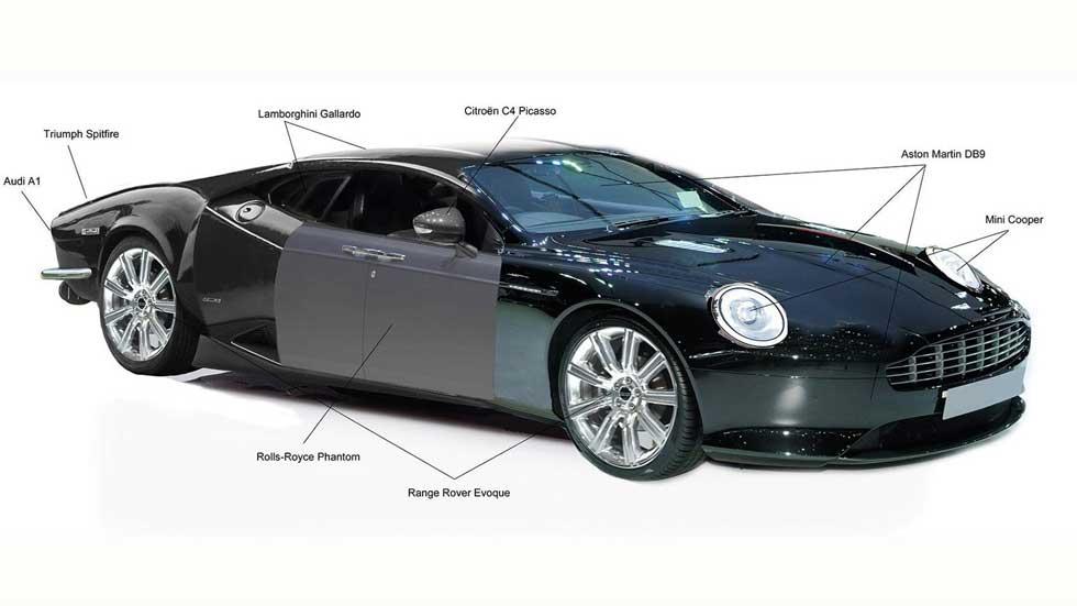 DB9 más Gallardo, Evoque y A1: ¿el coche perfecto?