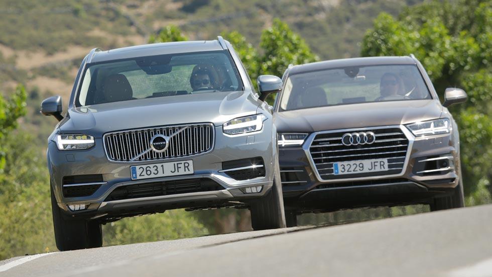 Volvo XC90 D5 AWD contra Audi Q7 3.0 TDI Quattro Tiptronic
