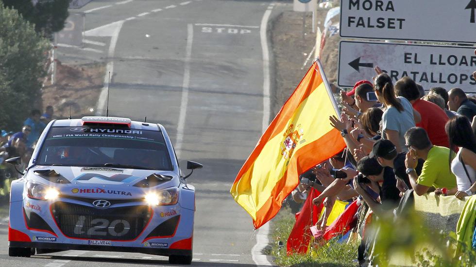 WRC Rallye de España – Dani Sordo sale a brillar en la carrera de casa
