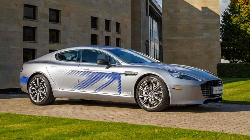 Aston Martin RapidE Concept, un eléctrico a todo lujo