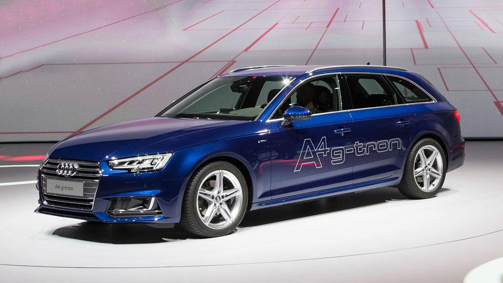 Audi A4 Avant g-tron, 4 kg de gas por 100 kilómetros