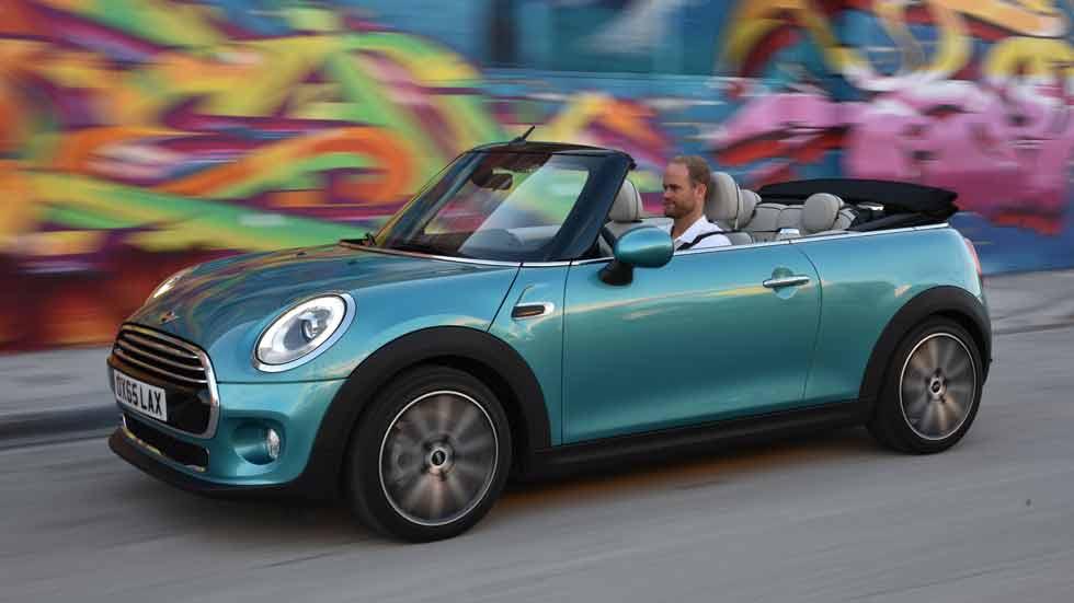 Mini Cabrio 2016: el descapotable de nueva generación ya es realidad