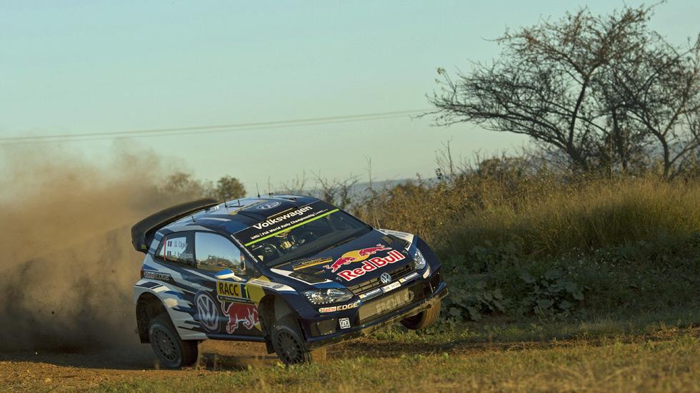 WRC Cataluña – viernes: Ogier y Latvala mandan separados por ocho décimas