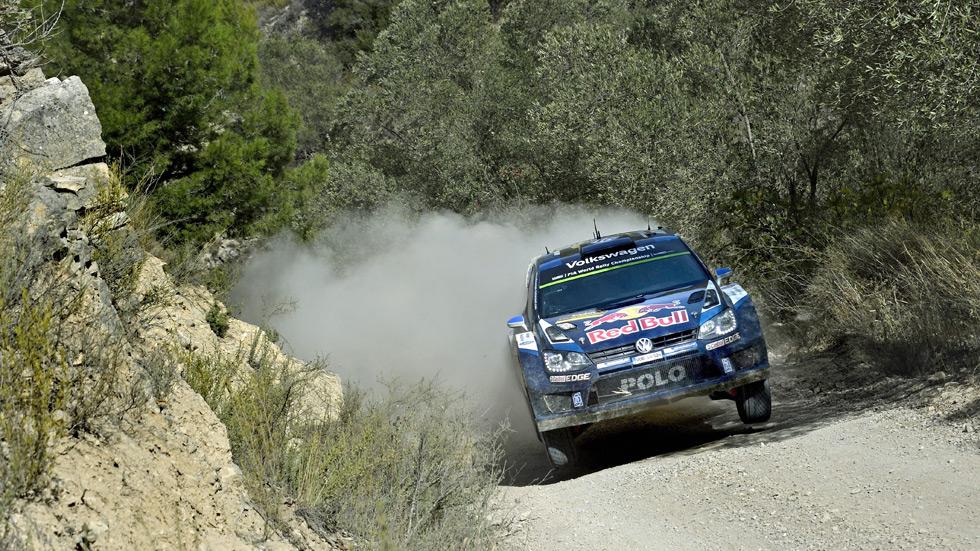 WRC Cataluña – viernes: Ogier lidera tras la etapa de tierra