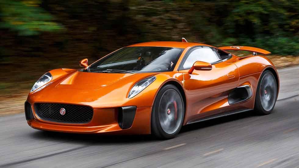 Jaguar C-X75 Bond Concept, un deportivo de cine