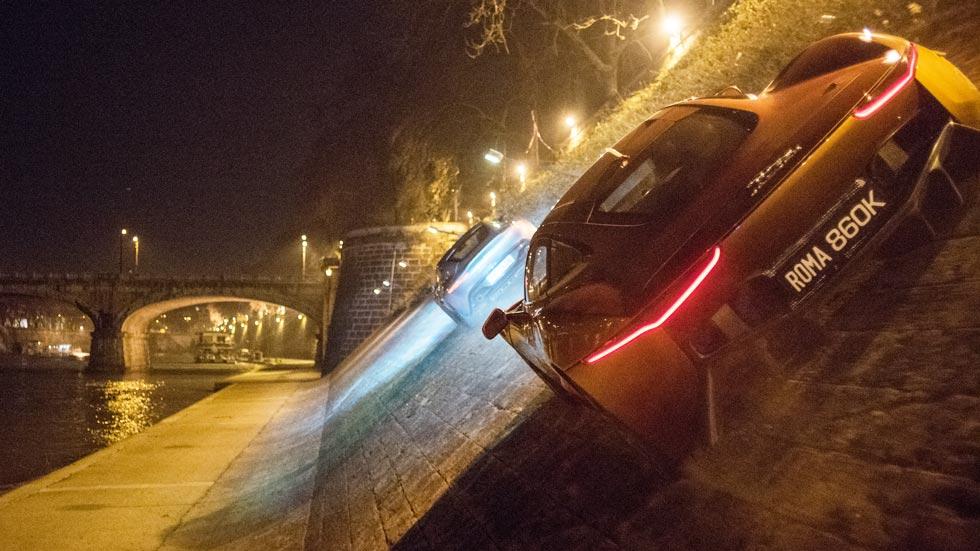 James Bond y sus coches en Spectre. la nueva película de 007