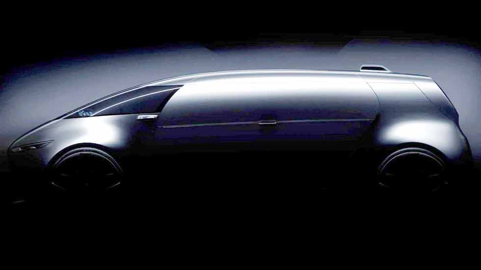 Mercedes-Benz y su Concept Vision pilotado del Salón de Tokio 2015