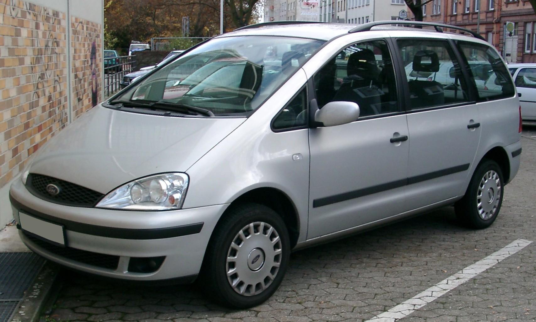 Tirones en Ford Galaxy 2003