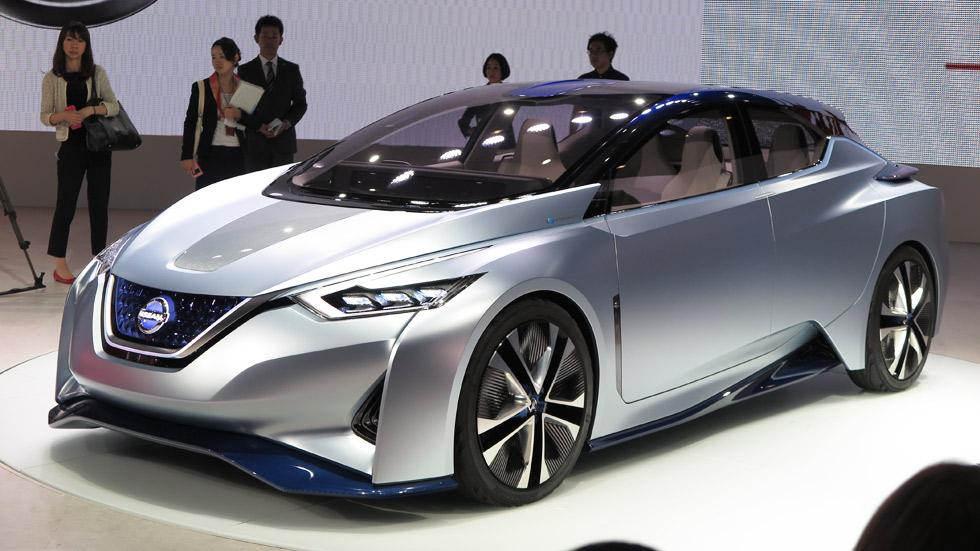 Nissan IDS Concept: el coche eléctrico que conduce solo