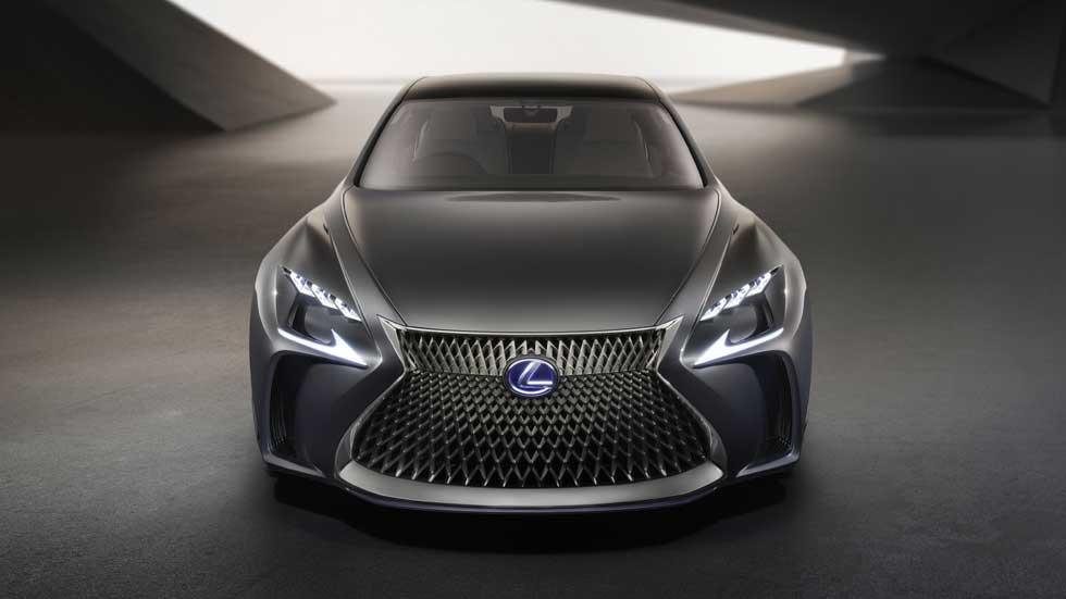 Lexus LF-FC, el nuevo LS propulsado por hidrógeno