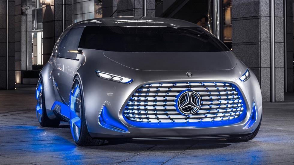 Mercedes-Benz Vision Tokyo Concept, tweet sobre ruedas