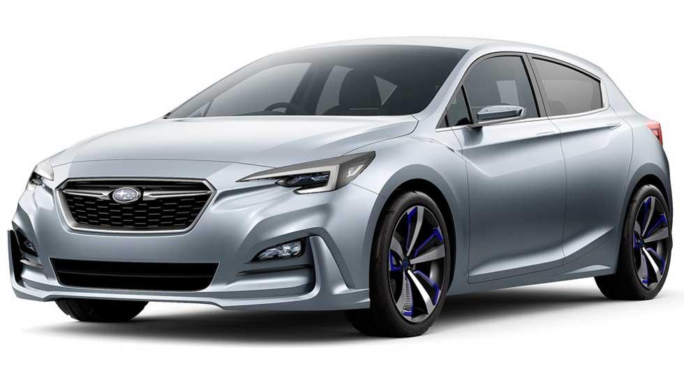 Subaru Impreza Concept, la nueva generación a la vista