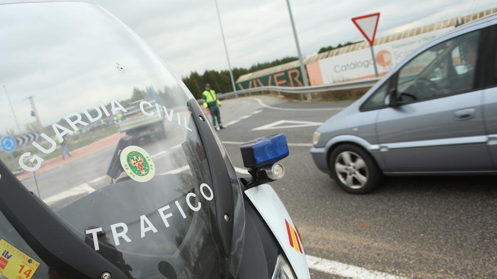 Velocidad, principal causa de multa en las carreteras secundarias