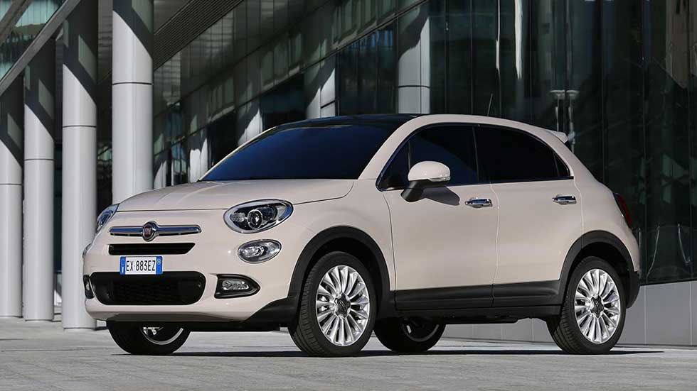 fiat 500x 1 3 multijet ii diesel de bajo consumo. Black Bedroom Furniture Sets. Home Design Ideas