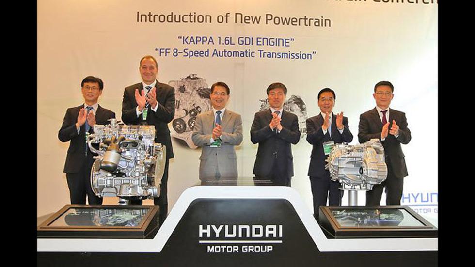 Hyundai 1.6 GDI, nuevo motor para futuros coches híbridos