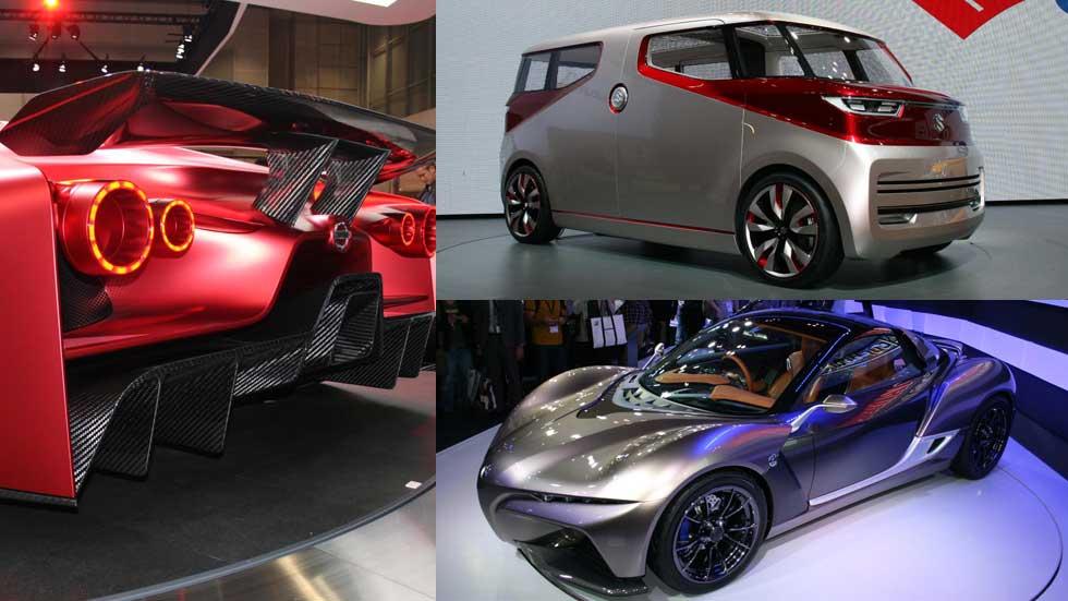 Los coches más exóticos del Salón de Tokio 2015
