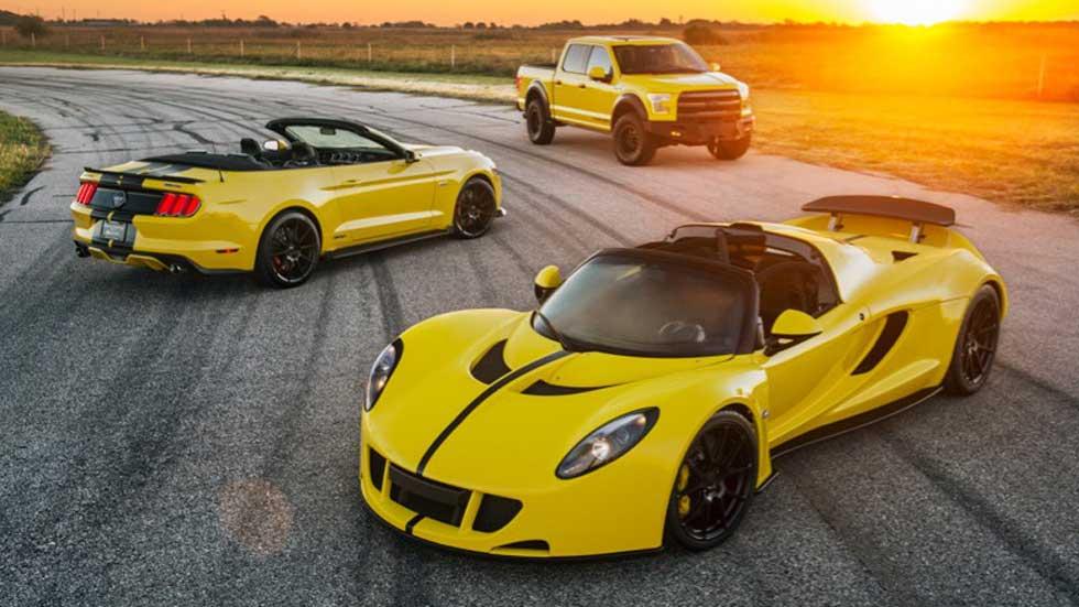 Hennessey Venom GT, 1.451 CV para el coche más rápido del mundo