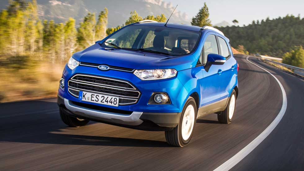Ford EcoSport 2015 1.0 EcoBoost 125 CV, buen equilibrio