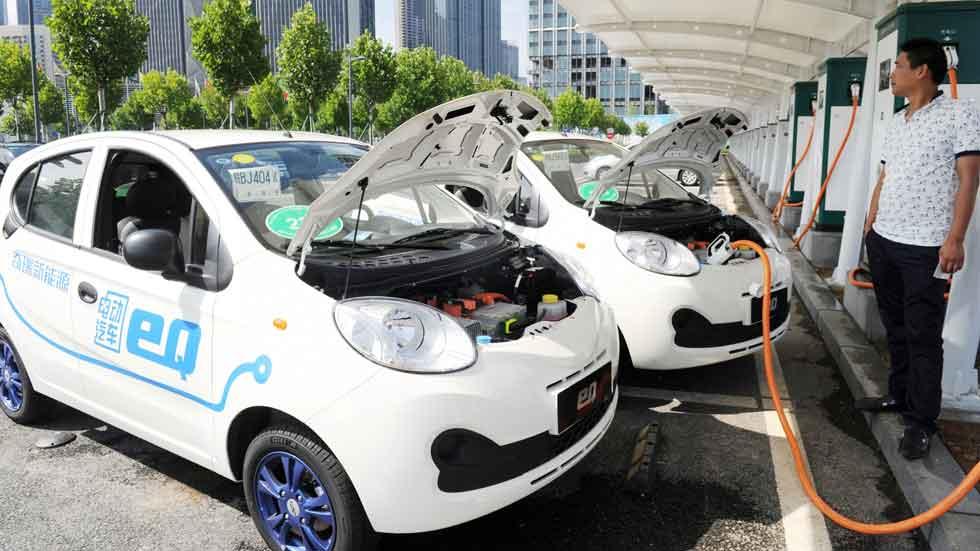 Aumenta las ventas de los coches eléctricos un 55 por ciento