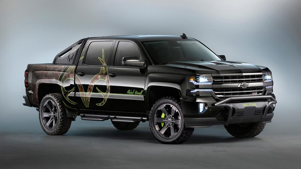 Chevrolet Silverado Realtree Bone Collector, vámonos de caza