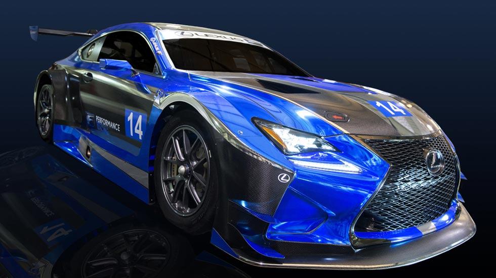Lexus RC F GT3, deportivo de competición