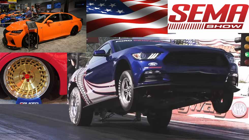 Los mejores coches del SEMA Tuning Show 2015