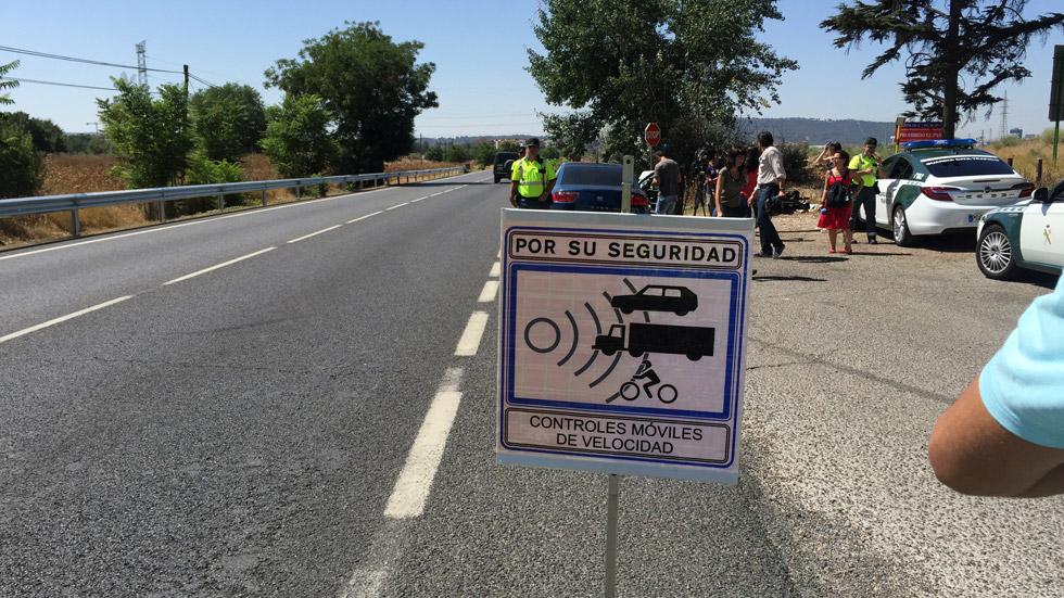 Todos los radares de tráfico móviles de Cáceres