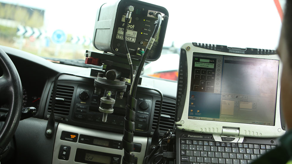 Todos los radares de tráfico móviles de Guadalajara