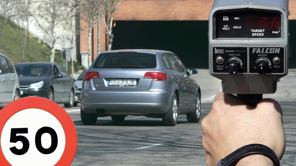 Todos los radares de tráfico móviles de Huelva