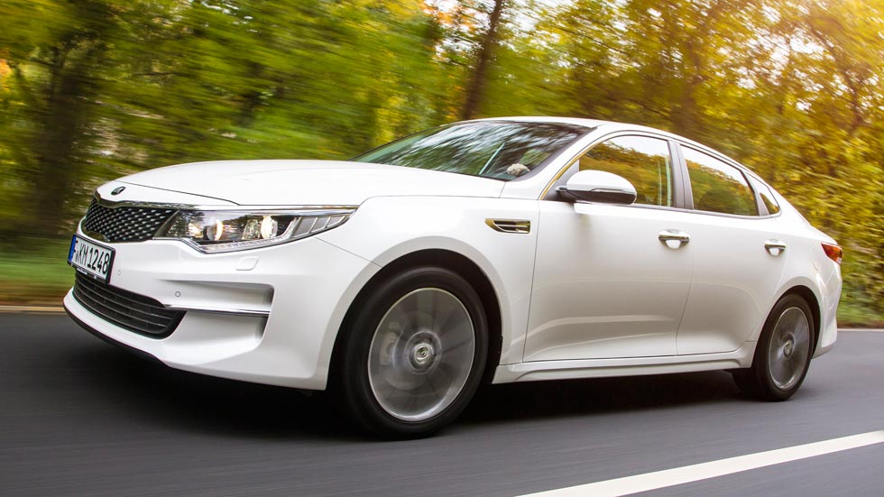 Kia Optima, una cara remozada para un coche completamente nuevo