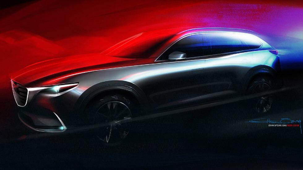 Mazda revela la primera imagen del nuevo CX-9