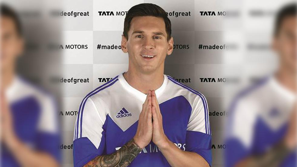 Leo Messi ficha por… Tata Motors