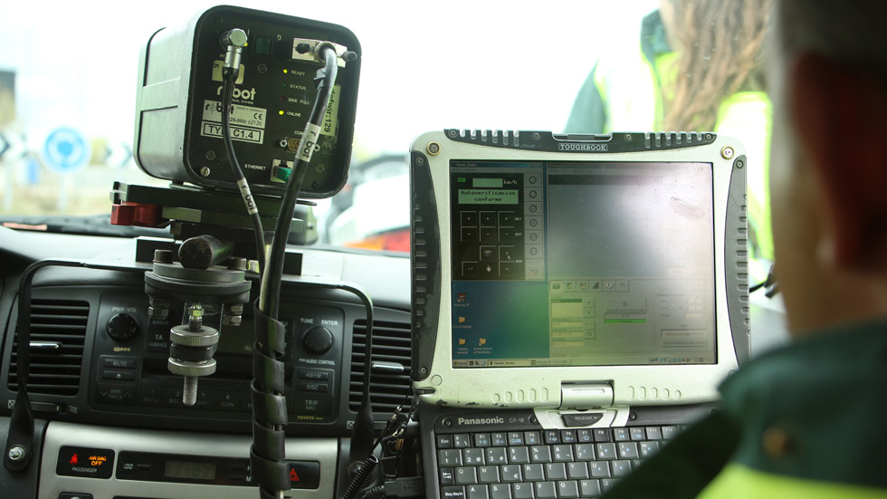 Todos los radares de tráfico móviles de Navarra