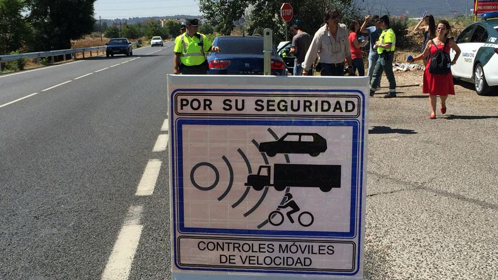 Todos los radares de tráfico móviles de Palencia