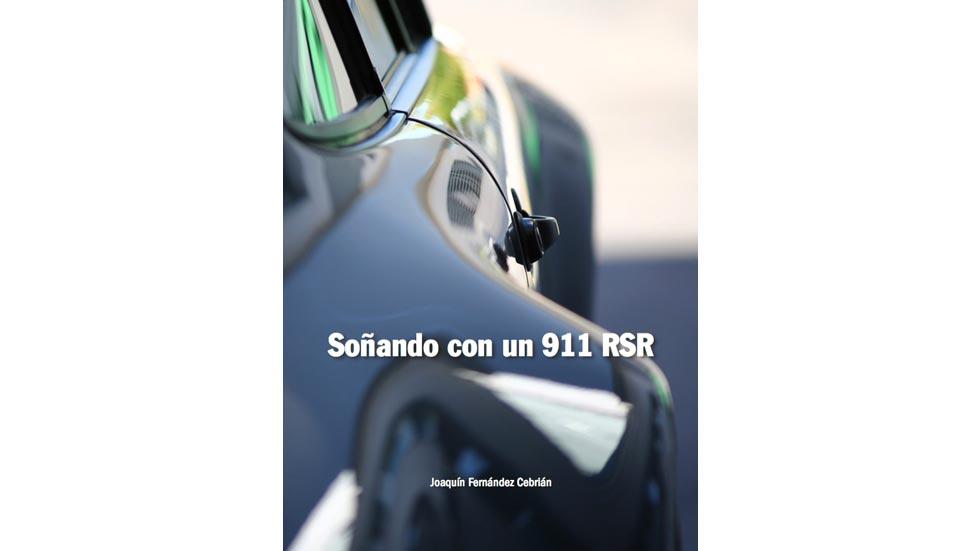 El libro que rinde tributo al Porsche 911 RSR
