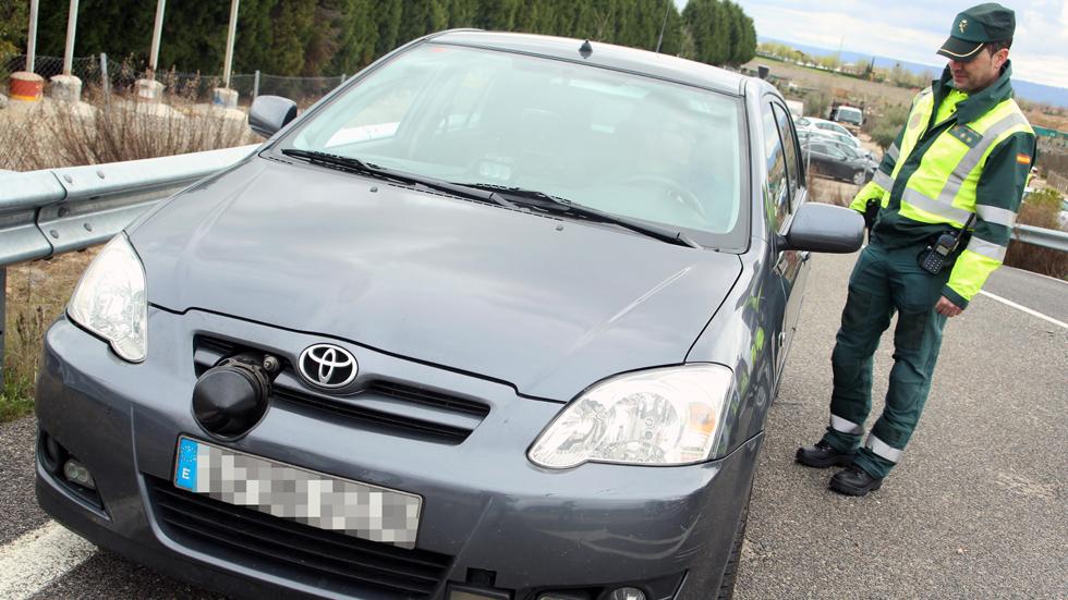 Los coches con radar camuflados de la DGT en Madrid