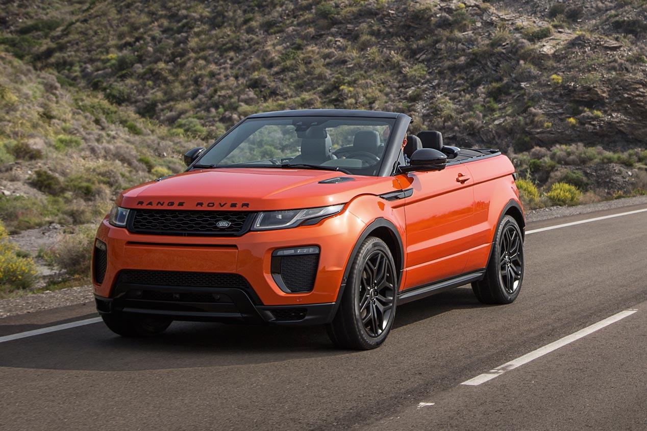 range rover evoque convertible primer suv premium cabrio. Black Bedroom Furniture Sets. Home Design Ideas