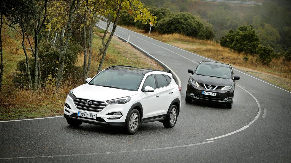 Revista Autopista número 2.934: Hyundai Tucson vs Nissan Qashqai
