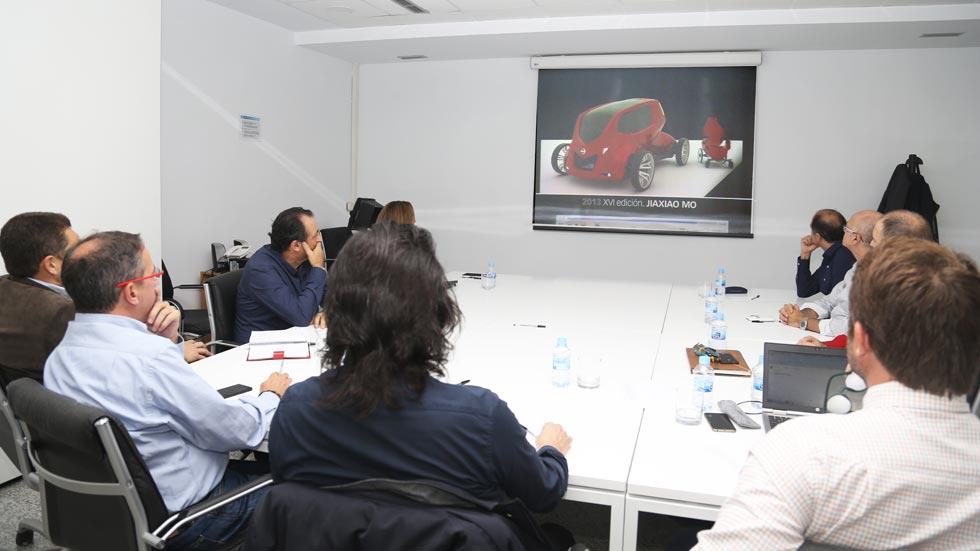 Concurso de Diseño de Autopista, Nissan y UPV: cuna de futuros diseñadores