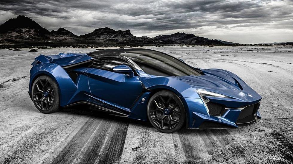 W Motors Fenyr SuperSport, el superdeportivo nacido en el desierto